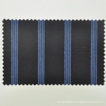 bleu avec du tissu de costume de laine de point Chine pour gentleman