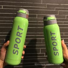 500ml Outdoor Edelstahl Sport Wasser Trinkflasche