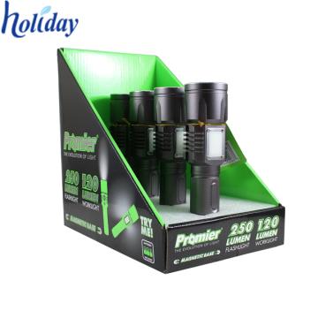 boîte en carton de petite pop, boîte d'affichage de compteur de modèle de bruit pour l'air plus frais au détail