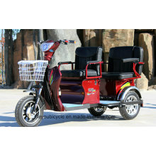 Adult Electric Tricycle with Passenger/Pedicab
