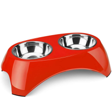 Removable Tray Dog&Cat Bowls