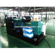 CE ISO approved open skid generator with 24hrs tank