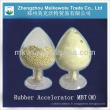 Matière première chimique MBT(M) pour l'industrie du caoutchouc