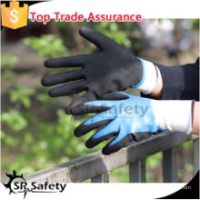 SRSAFETY песочные рабочие перчатки / новый стиль / нитрил на ладонных перчатках