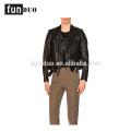 2018 nueva chaqueta de cuero de los hombres de moda de manga larga abrigo 2018 nueva chaqueta de cuero de los hombres de moda abrigo de manga larga de moto