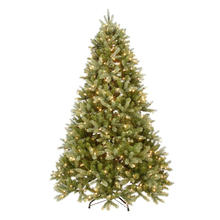 7.5 FT. Pre-Lit Green Douglas Fir Down Swept Artificial Christmas Tree with Clear Lights (MY100.084.00)