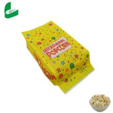 Factory on sales for custom sealableof microwave popcorn paper bags