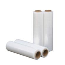 Plastic transparent pallet packing stretch wrap film