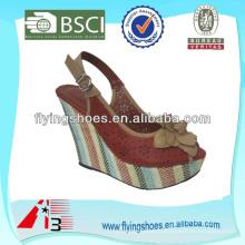 Модные сандалии женская обувь 2014