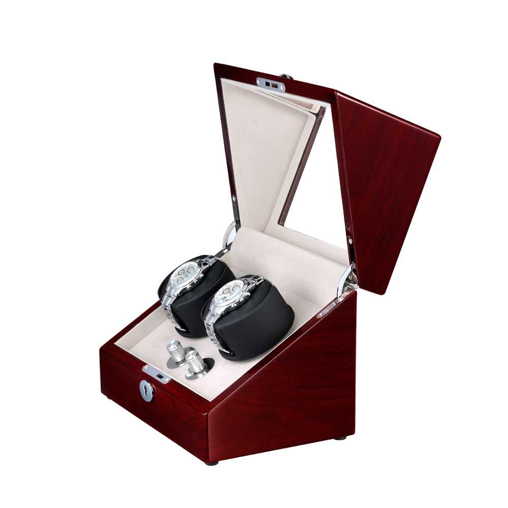 WATCH WINDER FOR TWO WATCHES WW-8097