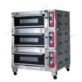 Pour l'équipement de cuisine de restaurant Four à deux étages de gaz de luxe de 3 couches de plateau