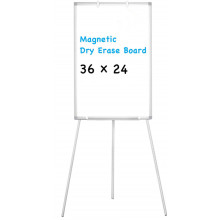 Soporte de caballete Tablero de borrado en seco magnético blanco 36X24 pulgadas