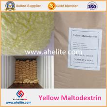 Maltodextrina amarilla de grado alimentario para café, chocolate y bebida de cacao