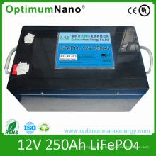 Deep Cycle LiFePO4 12V 250ah Solar Battery
