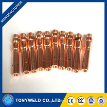 350/180/500 A Contact Tip Holder Welding Torch Consumables