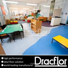 Kindergarten Floor PVC Sponge Flooring (F-1153)
