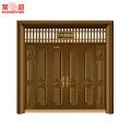 Luxus chinesischen Stil Villa Eintrag Nicht-Standard Stahl Tür-REUNION-Customized Eingang