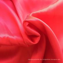 Baumwolle Nylon Stoff Satin Weave Seide Feel Spandex Stoff