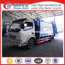 Dongfeng 8m3 sistema hidráulico para camión de basura vendido en Sudáfrica
