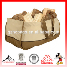 Sac fourre-tout en bois de feu de bois de chauffage de journal de sac de bois durable