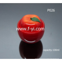 100ml Tomate-como cosméticos crema lindo tarro vacío