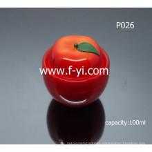 100ml Cute Tomato-Like Cosmetics Cream Empty Jar