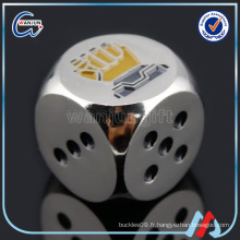 Promotion metal 12mm custom dice