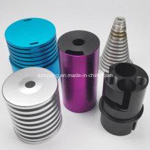 Diferentes tipos de piezas de mecanizado CNC de aluminio