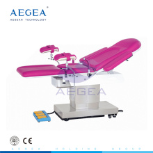 AG-C305 electric pink color gynecological examination table with many functions