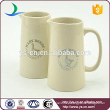 YSj0013 Jarra de cerámica de baño de cerámica moderna al por mayor