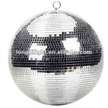 "12 ""SPIEGEL DISCO BALL SILBER GLITTER PARTY DECORATION GRAD TANZ"