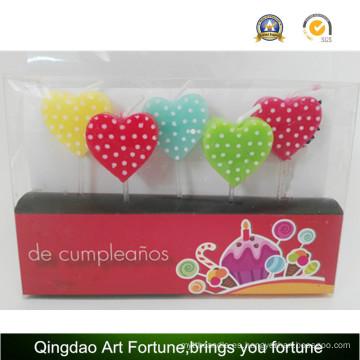 Nueva vela de la fiesta de cumpleaños del diseño para la decoración del acontecimiento