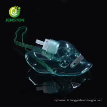 Masque à oxygène médical jetable à usage unique