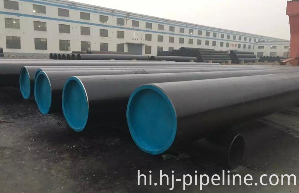seamless line pipes with bevel ends