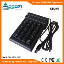 KB20R Magnetic Stripe Reader With 20 Keys Numeric Pinpad