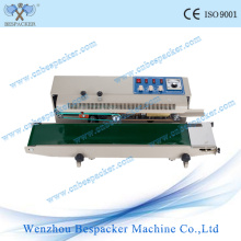 Continuous Plastic Sealer with Solid-Ink Coding and Counter