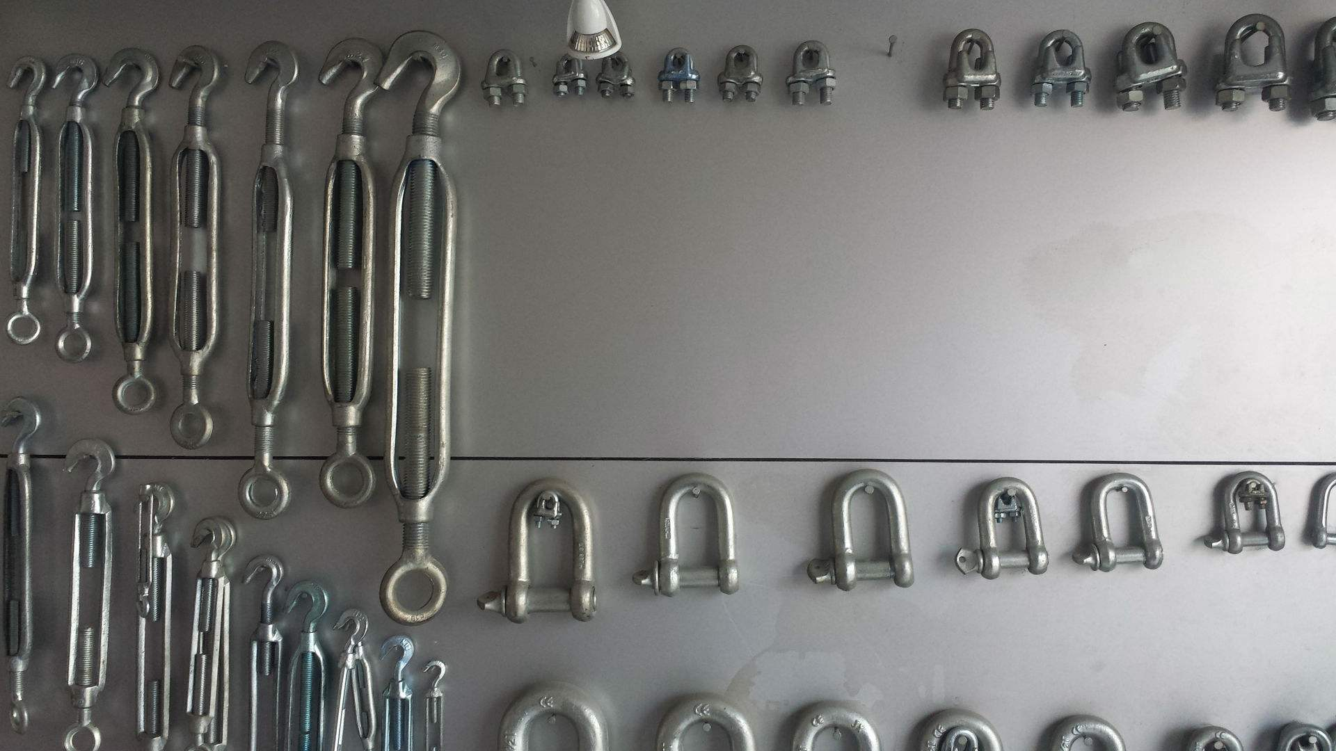 wire rope clip hardware