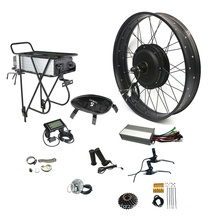 2020 NBpower 48v 1500w front/rear wheel drive motor fat tire electric bike conversion kit with lithium battery