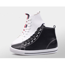 New Arrival Girls Student Shoes with Lace up (NF-7)