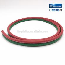 Twin / single oxygen acetylene propane rubber welding hose