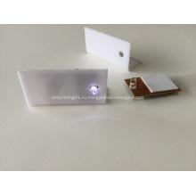 Акриловый дисплей со светодиодным модулем, светодиодная акриловая коробка ценник, светодиодная акриловая коробка для ценника