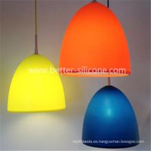 Recuerdo personalizado lámpara de silicona cubierta
