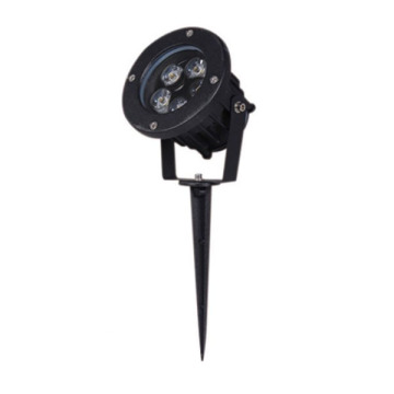 Dimmable Aluminum Black 5W CREE LED Spike Light