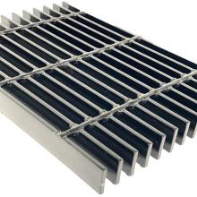 welded steel bar grate plain grating price anti-slip special-shaped platform step board