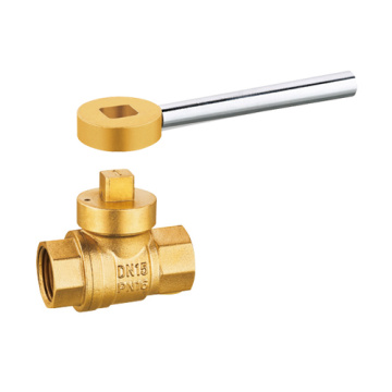 Male Brass Magnetic Lockable Gas Ball Valve