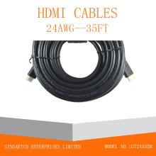 Communication AV Communication Câble HDMI avec Ethernet Ferrite