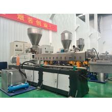 High capacity&environmental plastic twin screw extruder