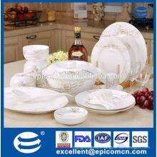 elegant luxury gold roses design china fine porcelain dinnerware
