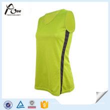 V-Neck Tank Top Wholesale Gym Wear for Women