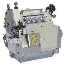 Máquina de costura de Overlock da cama do cilindro de alimentação superior e inferior